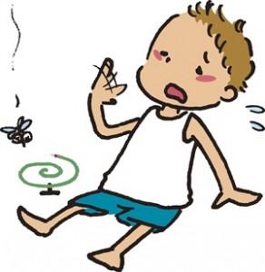 夏休みの自由研究、蚊