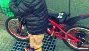 自転車 ペダルなし